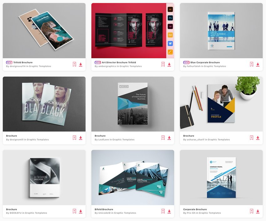 Best Creative Business Brochures on Envato Elements 2021