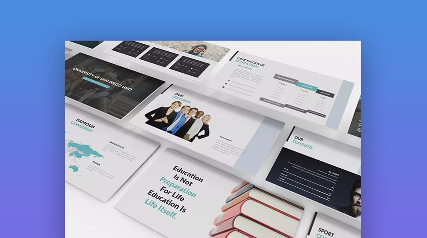 School and Education PowerPoint PPT Template