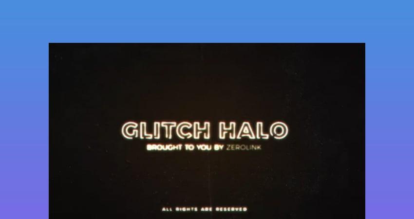 Glitch Halo  Digital Distortion After Effect