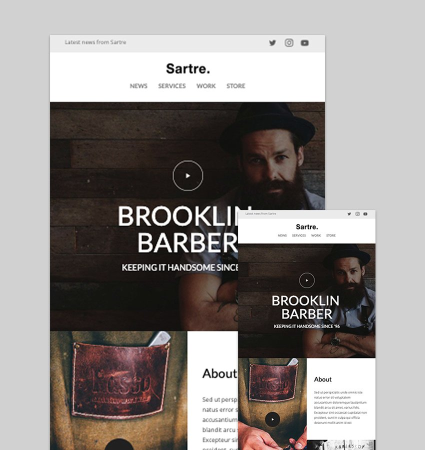Sartre - Responsive Email Toolkit