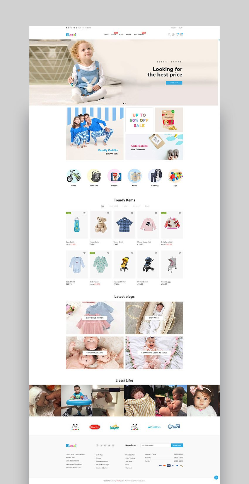 Elessi - Shopify Themes 2019