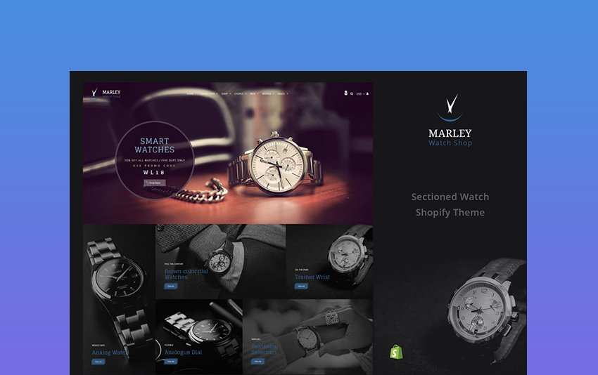 Watch Store - Responsive Shopify Theme