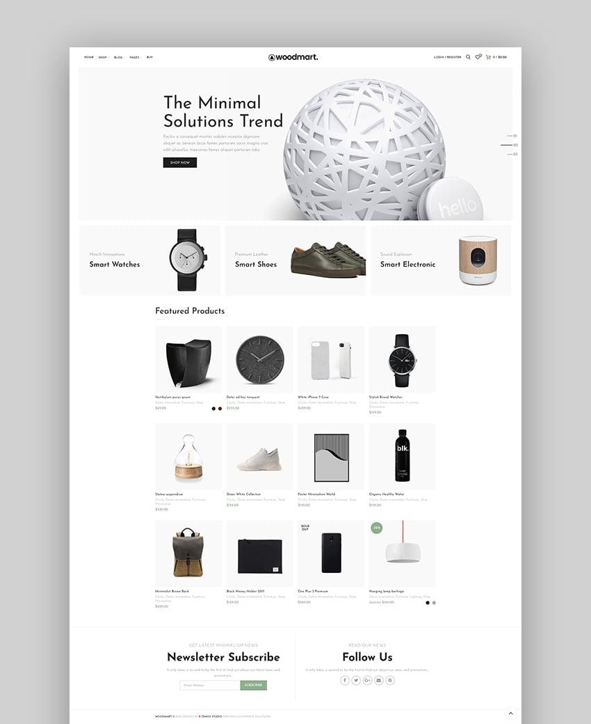 Woodmart - Responsive Theme Shopify