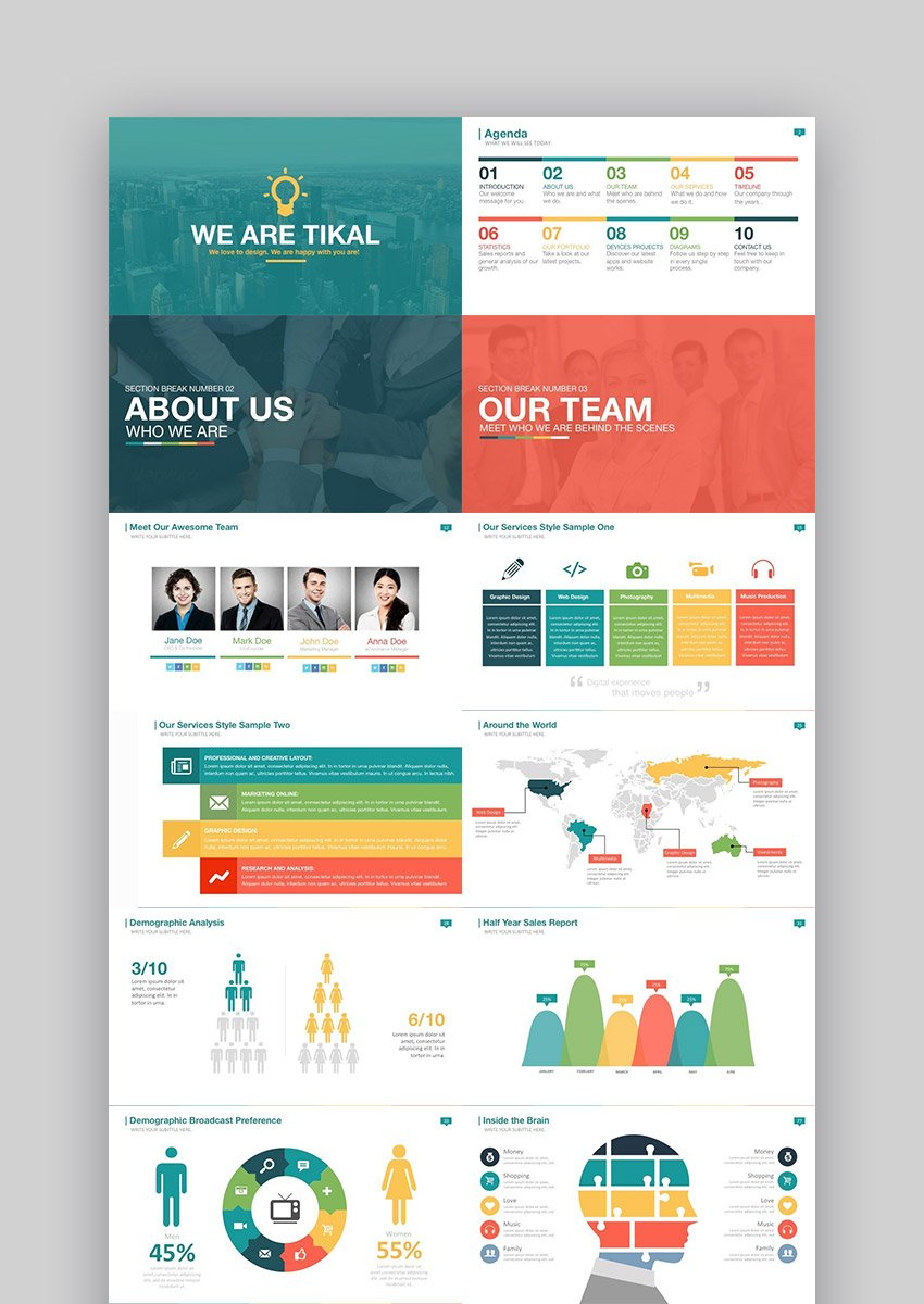 Tikal Fun PowerPoints