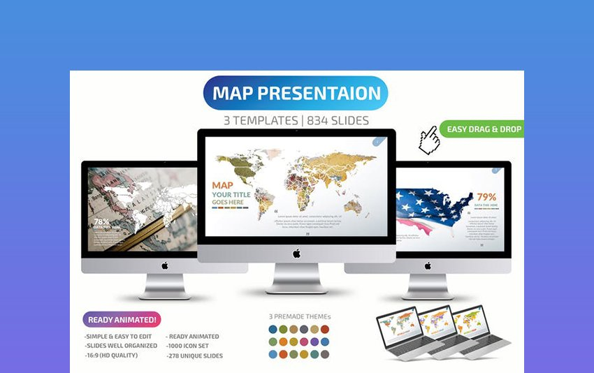Create Animated Map in PowerPoint