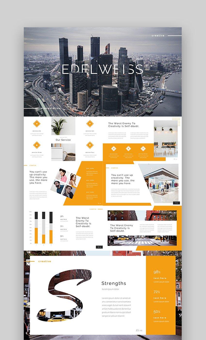 Edelweiss - Modern PowerPoint Designs
