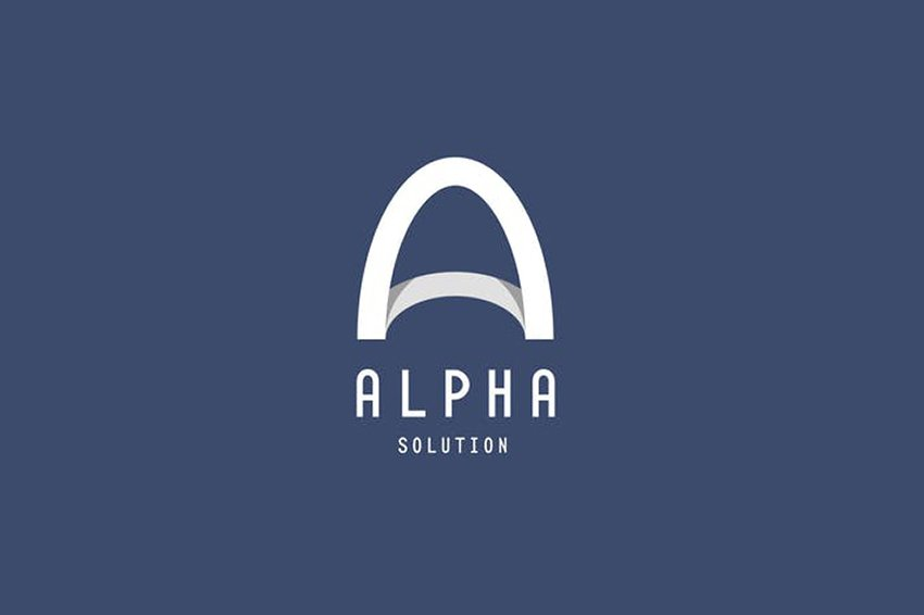 Alpha Design Logo Template