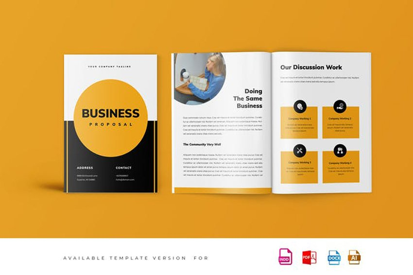 Use a Professional Business Proposal Template