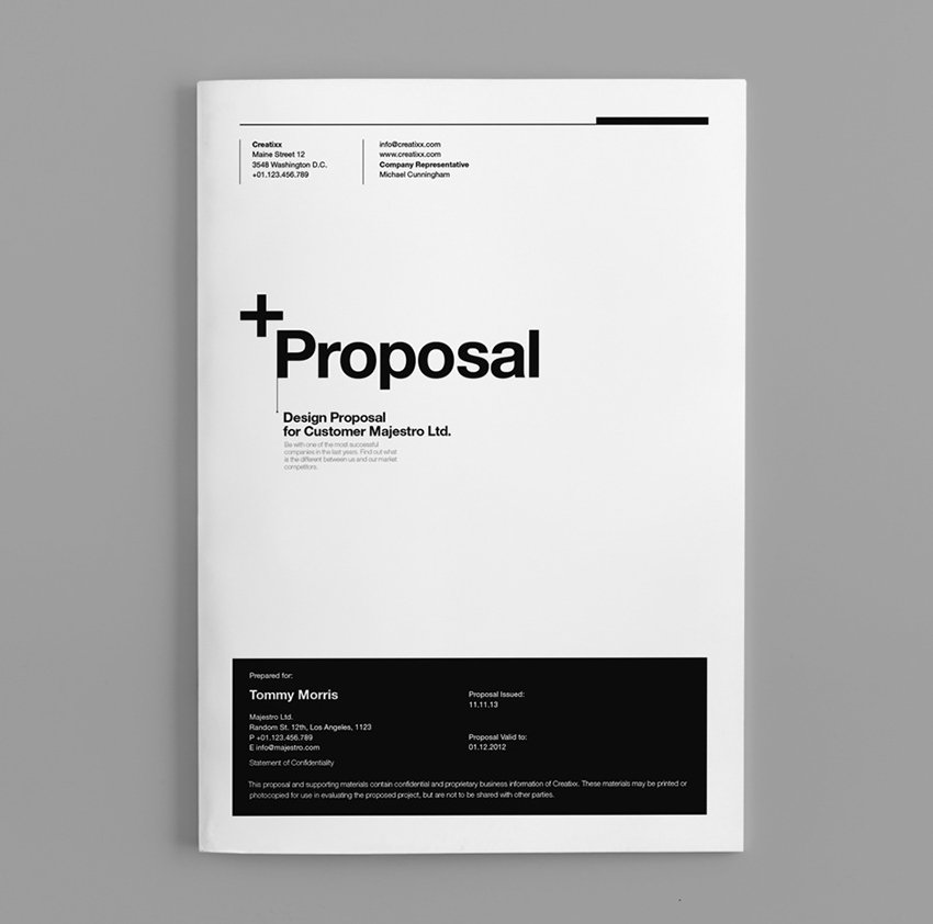 Suisse Proposal Template