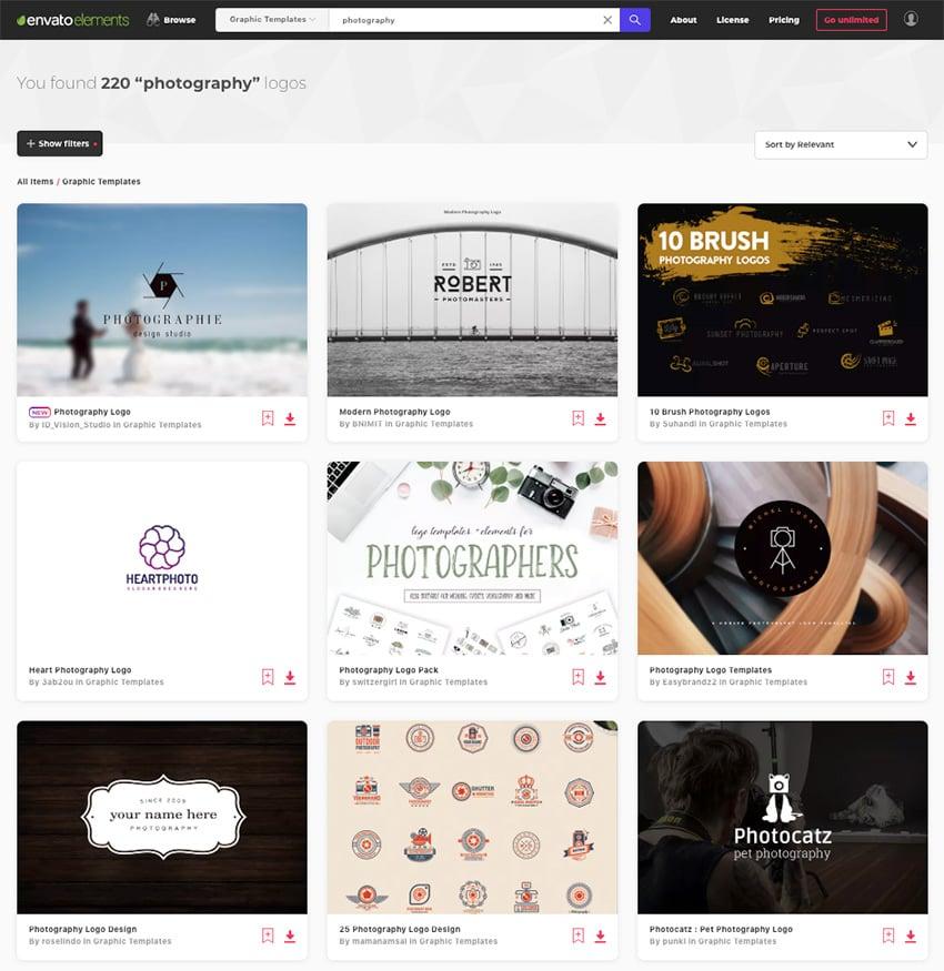 Best photography logo design ideas