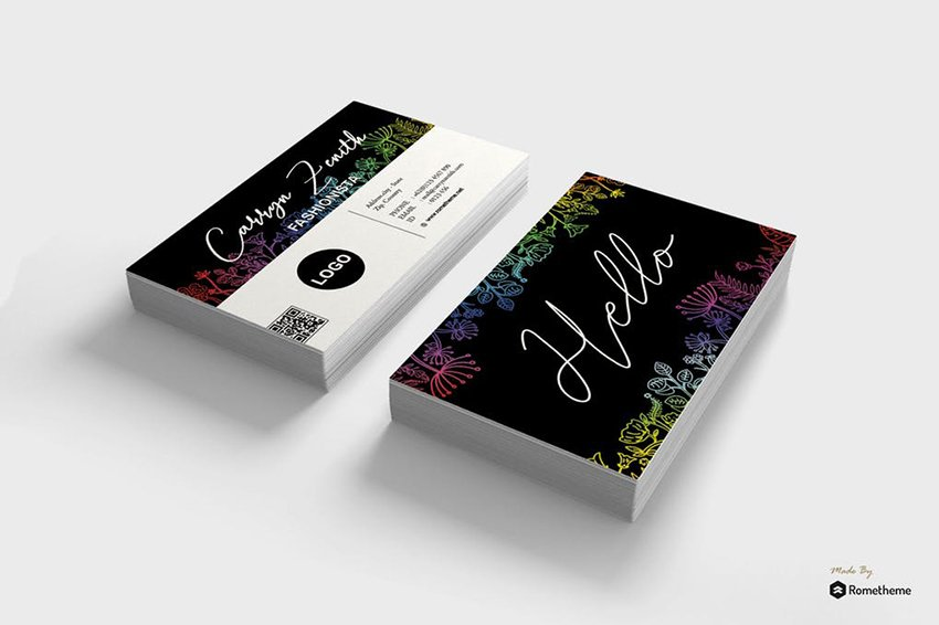 Professional Business Card Template on Envato Elements