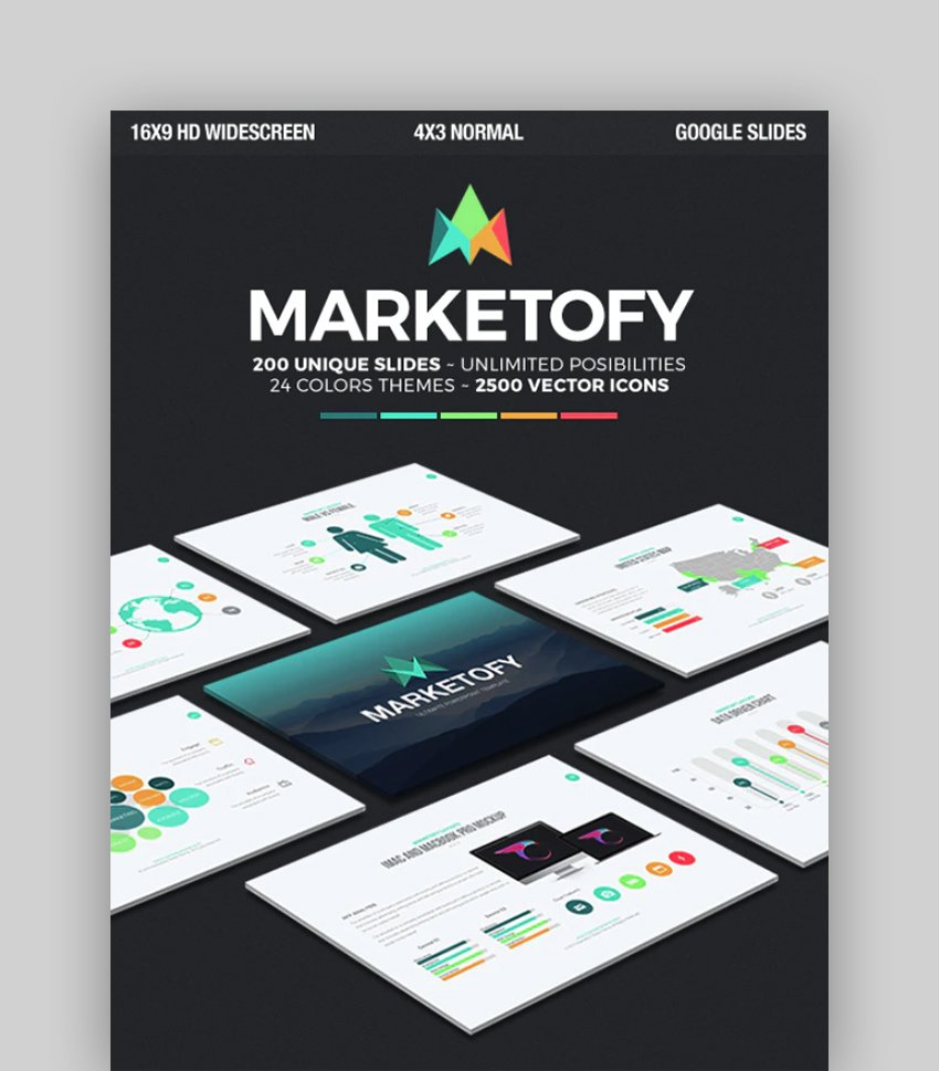 Marketofy - Infographic Template Google Docs