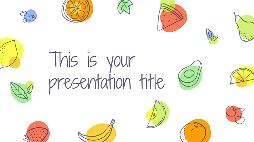 Aumerle Illustrated Fruits