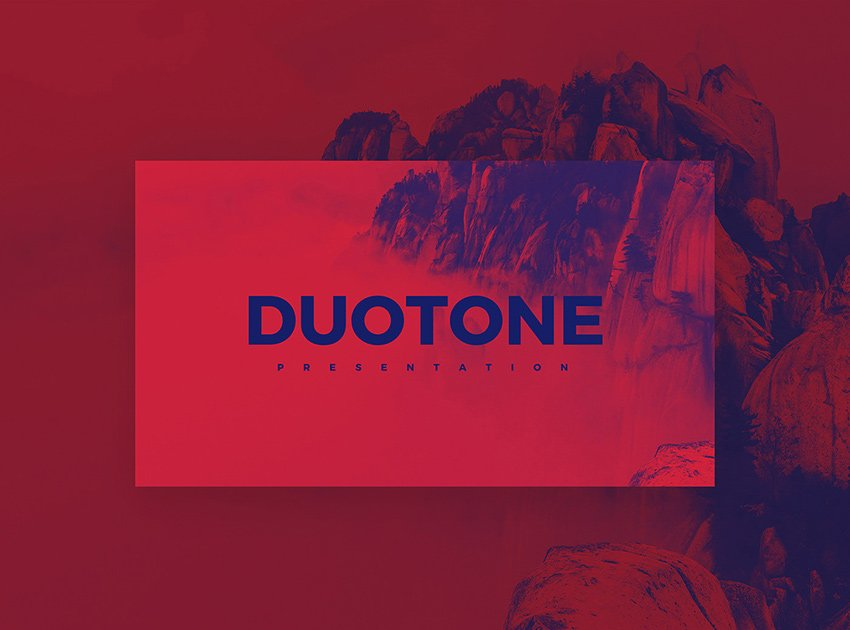 Duotone Best PowerPoint Presentation Templates Free Download