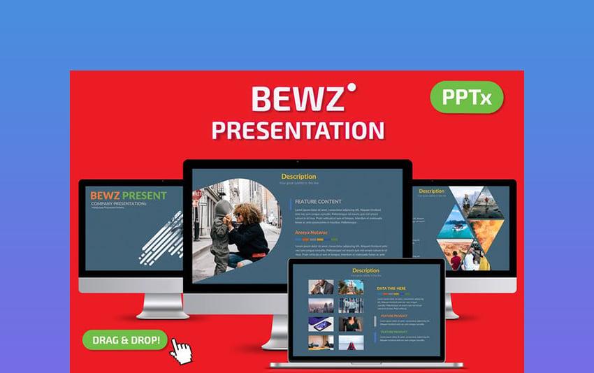 Bews - Chalkboard Theme PowerPoint Template