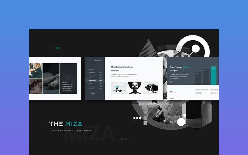 Miza - Chalkboard PowerPoint Presentation