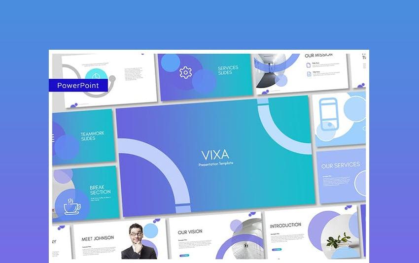Vixa PowerPoint Template