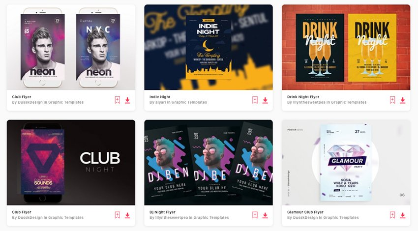 Discover loads of premium club party flyer templates on Envato Elements