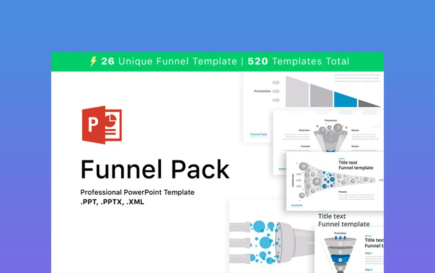 Funnel Pack - Download Template PowerPoint