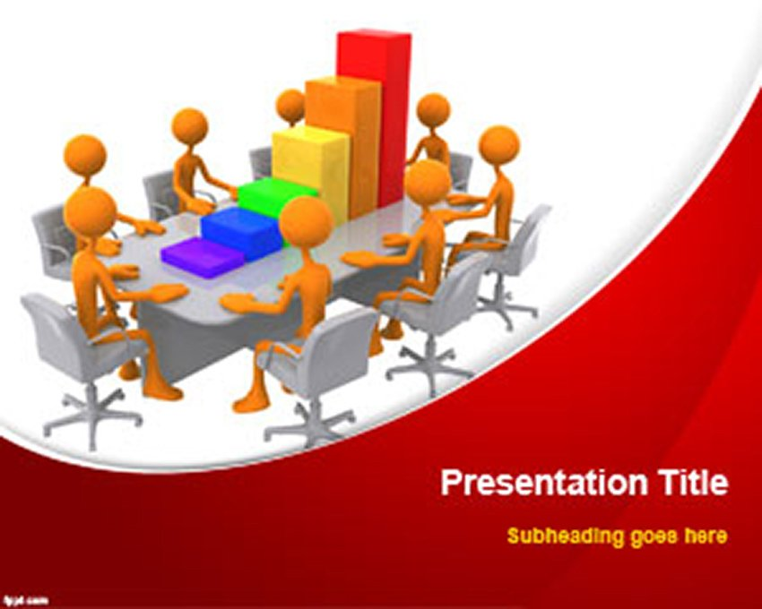 template PowerPoint free 3D
