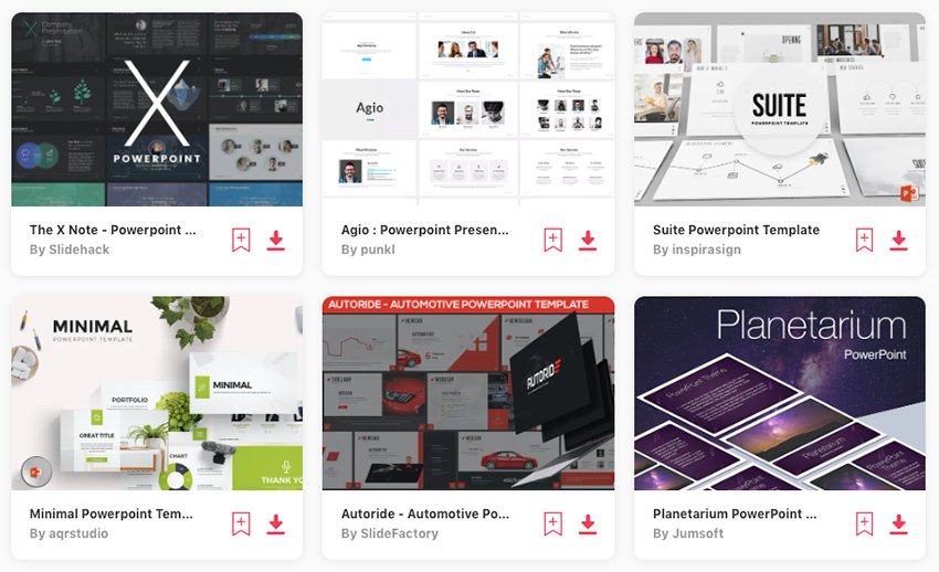 Choose from thousands of best PPT themes from Envato Elements