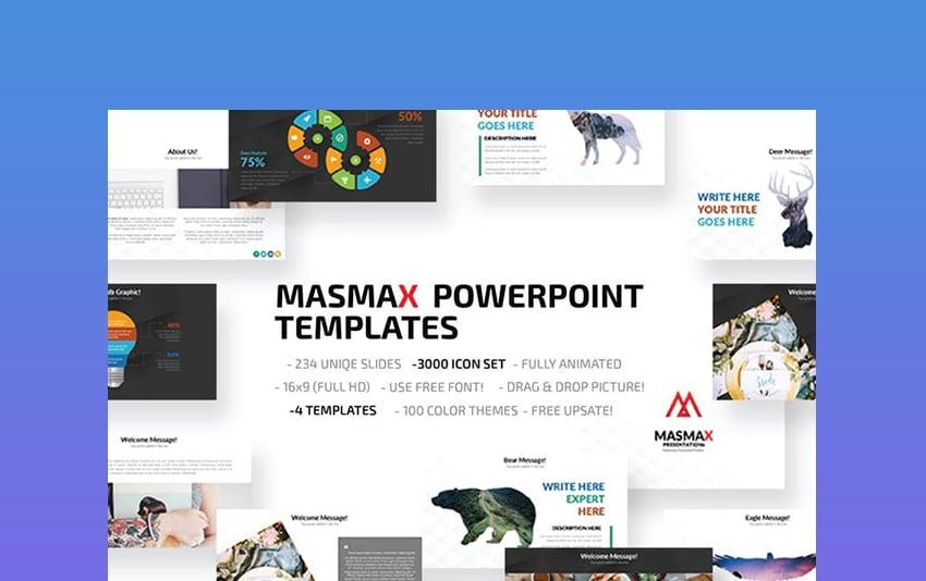 Masmax PowerPoint Theme