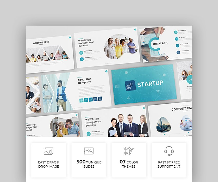 Simple  Modern Business PowerPoint Theme