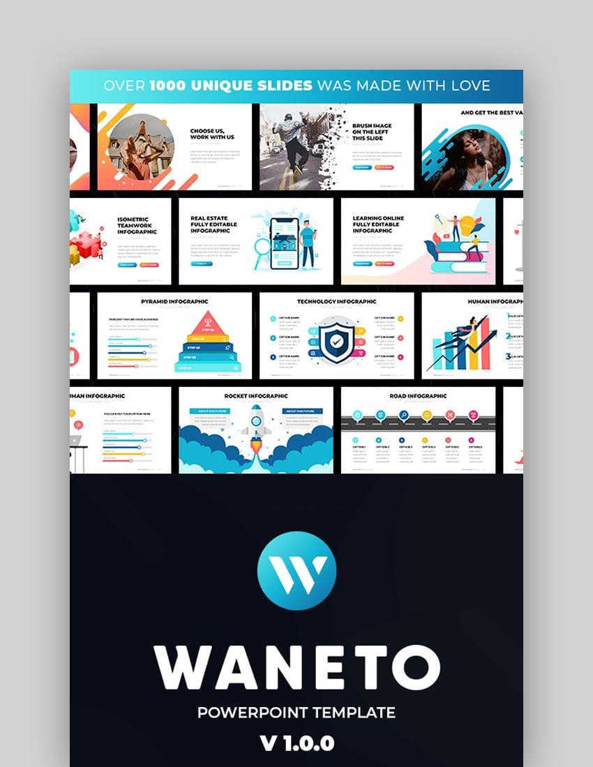 Waneto - Multipurpose PowerPoint Theme