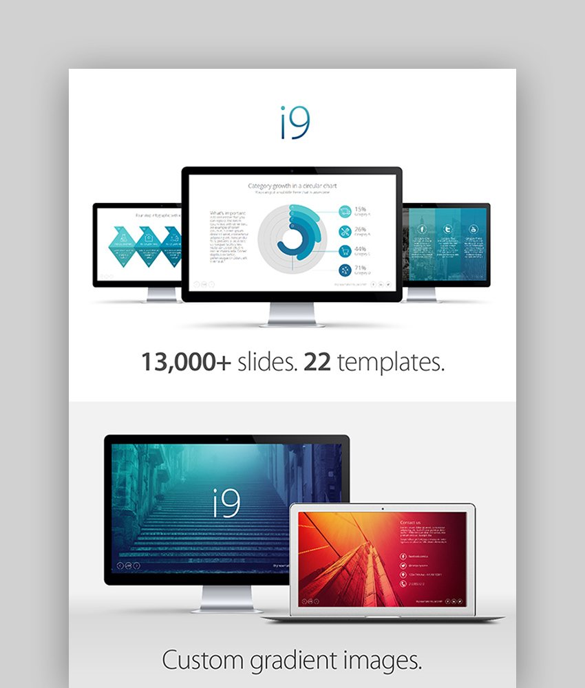 i9 Template System - Microsoft PPT Theme