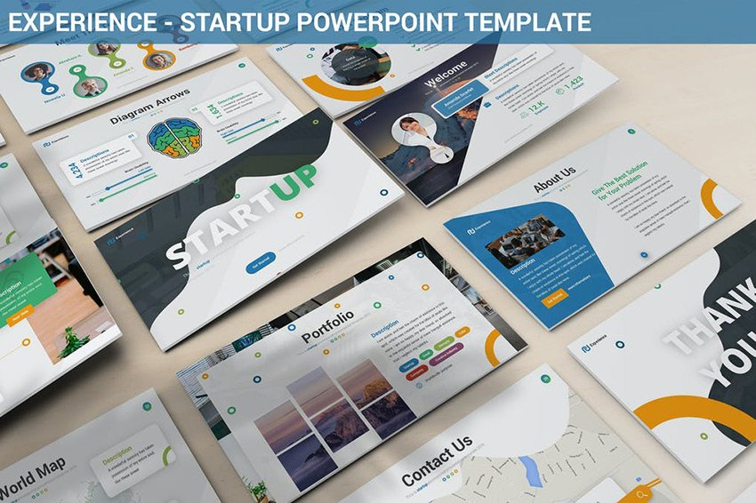 Experience - Startup Powerpoint Template