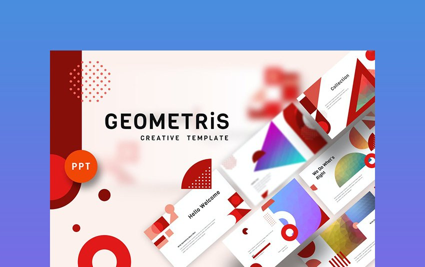 Geometrics - Abstract Background PowerPoint