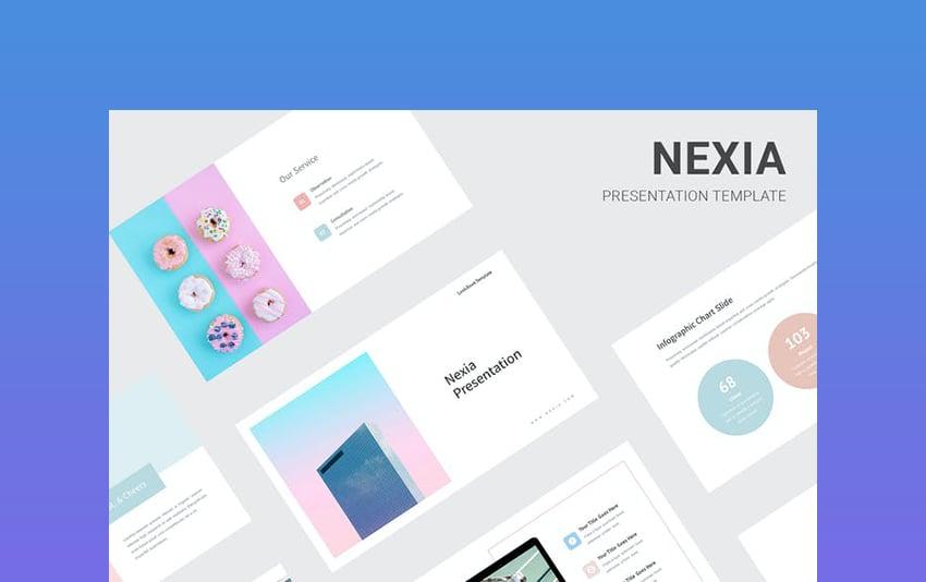 Nexia - Cute Pastel PowerPoint Template