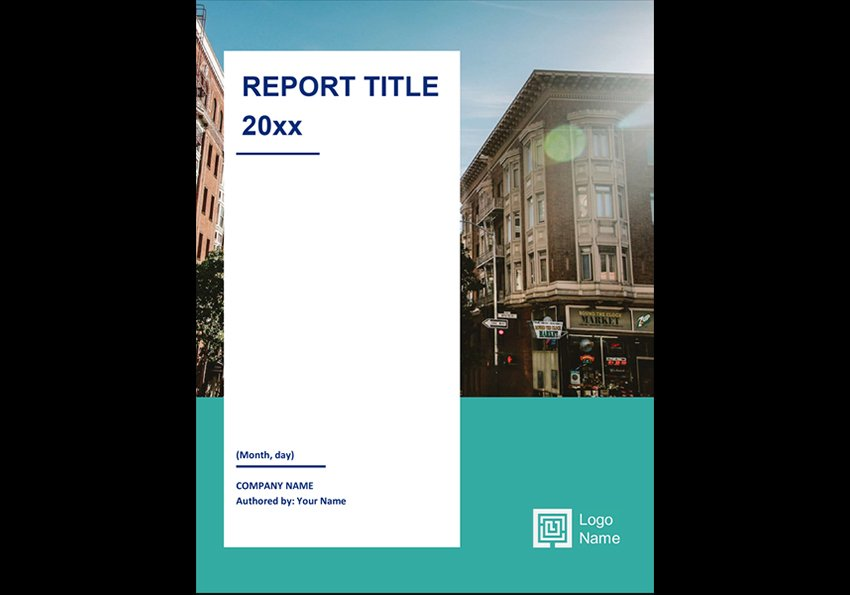 Annual Report Free Template Word