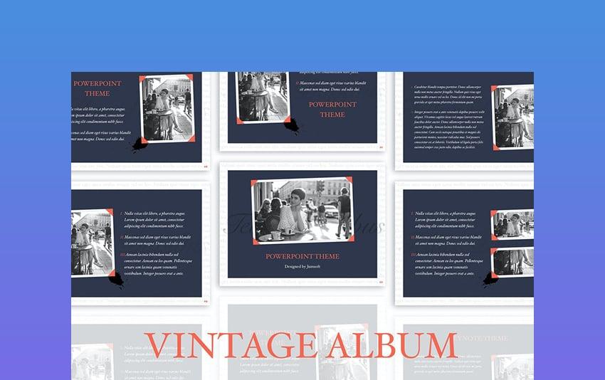 Album - Vintage PowerPoint Theme