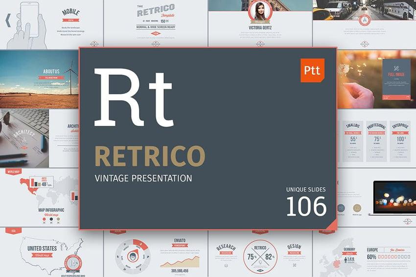 Retrico - Vintage Slides