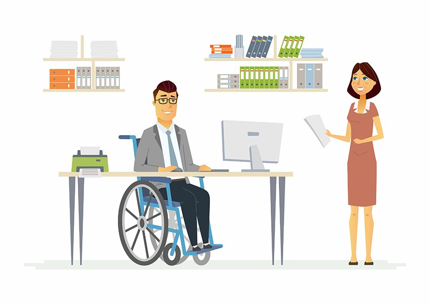 Office Illustration a premium vector graphic from Envato Elements