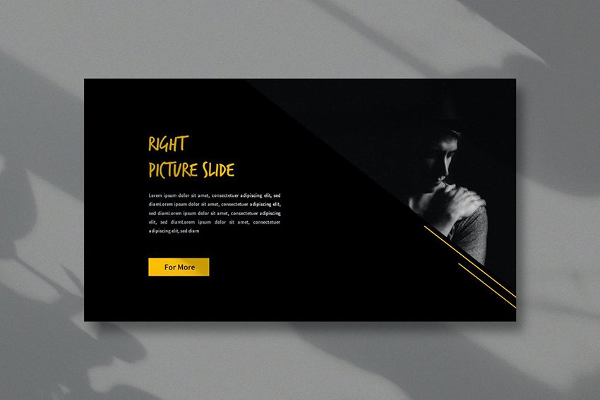 Bitcoin Business Google Slides Template a premium template on Envato Elements that uses plenty of white space