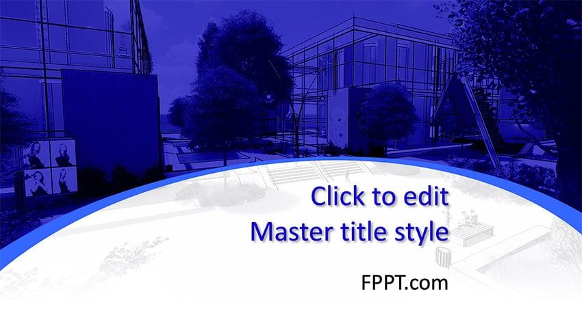 Urban - Free Architecture Background PowerPoint