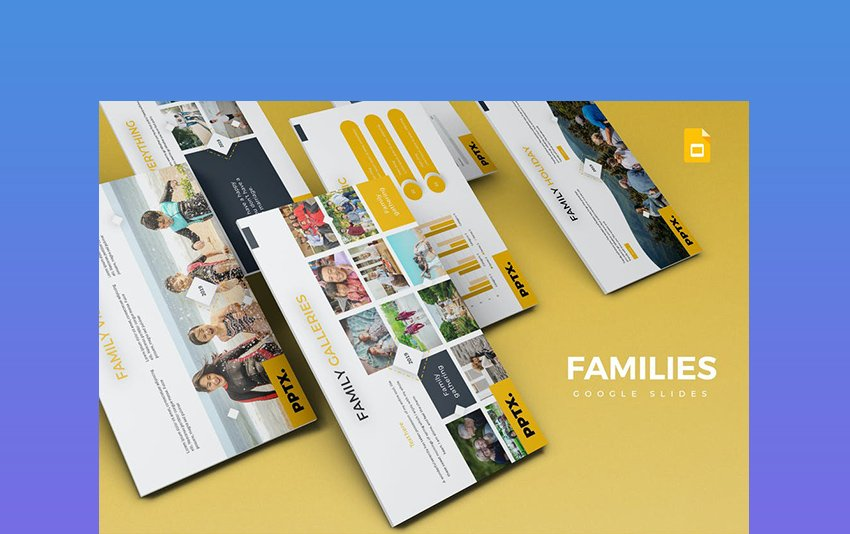 Families - PowerPoint Template
