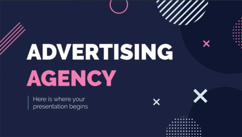 Agency - Free Advertising Storyboard Examples PowerPoint