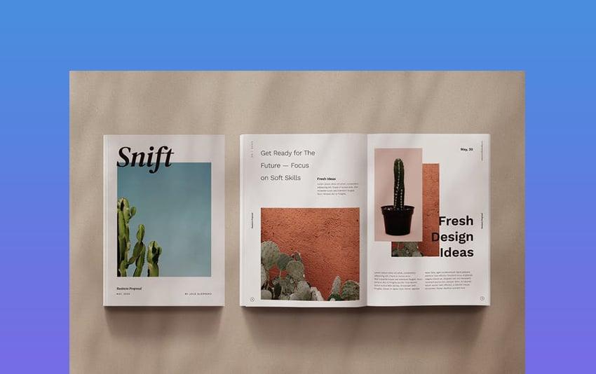 Snift - Vertical eBook PowerPoint