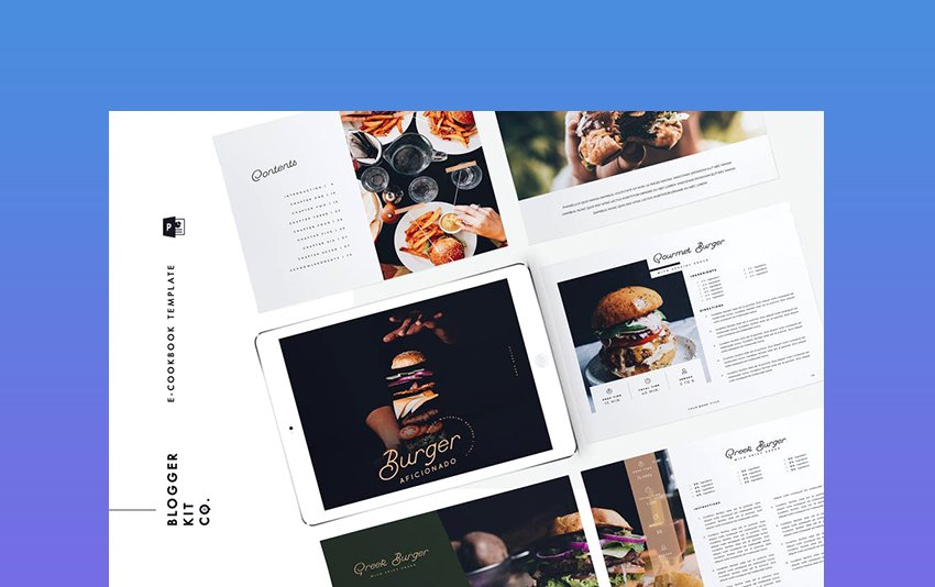 eBook Template - Cookbook - 16 Pages