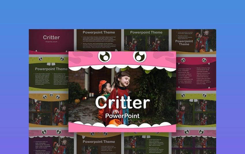 Critter PowerPoint Template