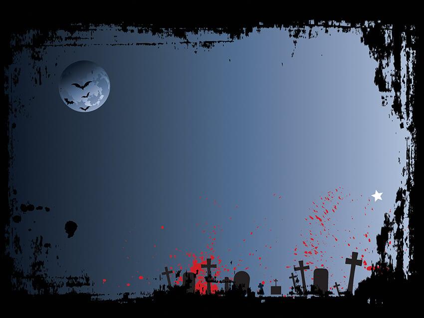 Graveyard - Free Halloween PowerPoint Design