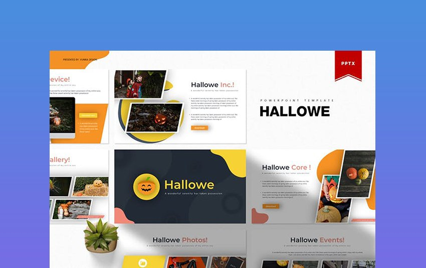 Hallowe PowerPoint Template