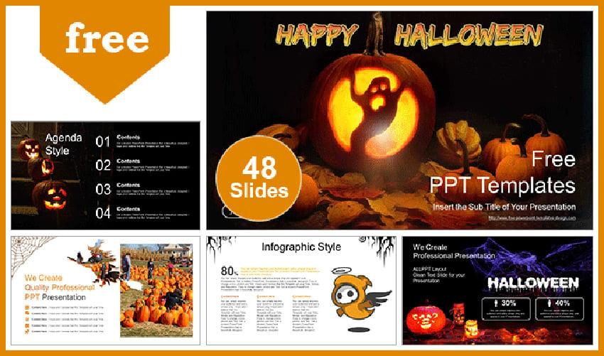 Happy Halloween - Free Halloween PowerPoint Presentation Template