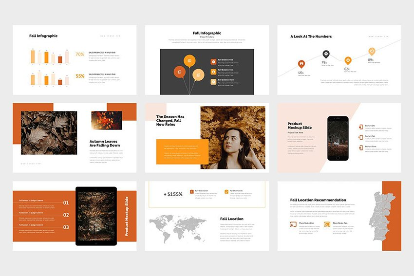 Cumea - Thanksgiving Day PPT Template a minimalistic template on Envato Elements
