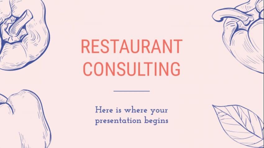 Free Restaurant Consulting Slides