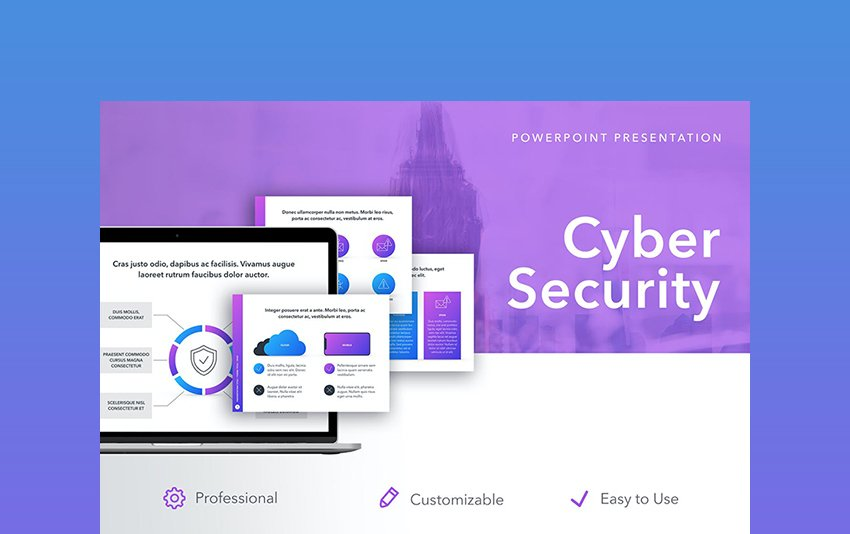 Cyber Security PPT Templates