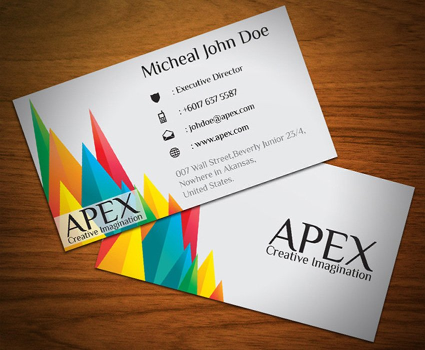 Free Apex Business Visiting Card